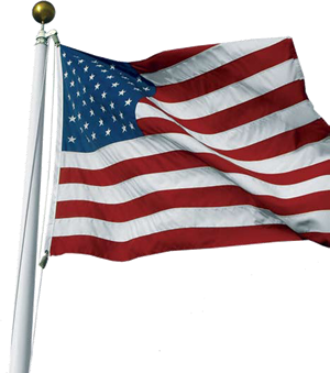 the gallery for gt usa flag pole png