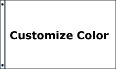 Customize 1 Color Standard Flag